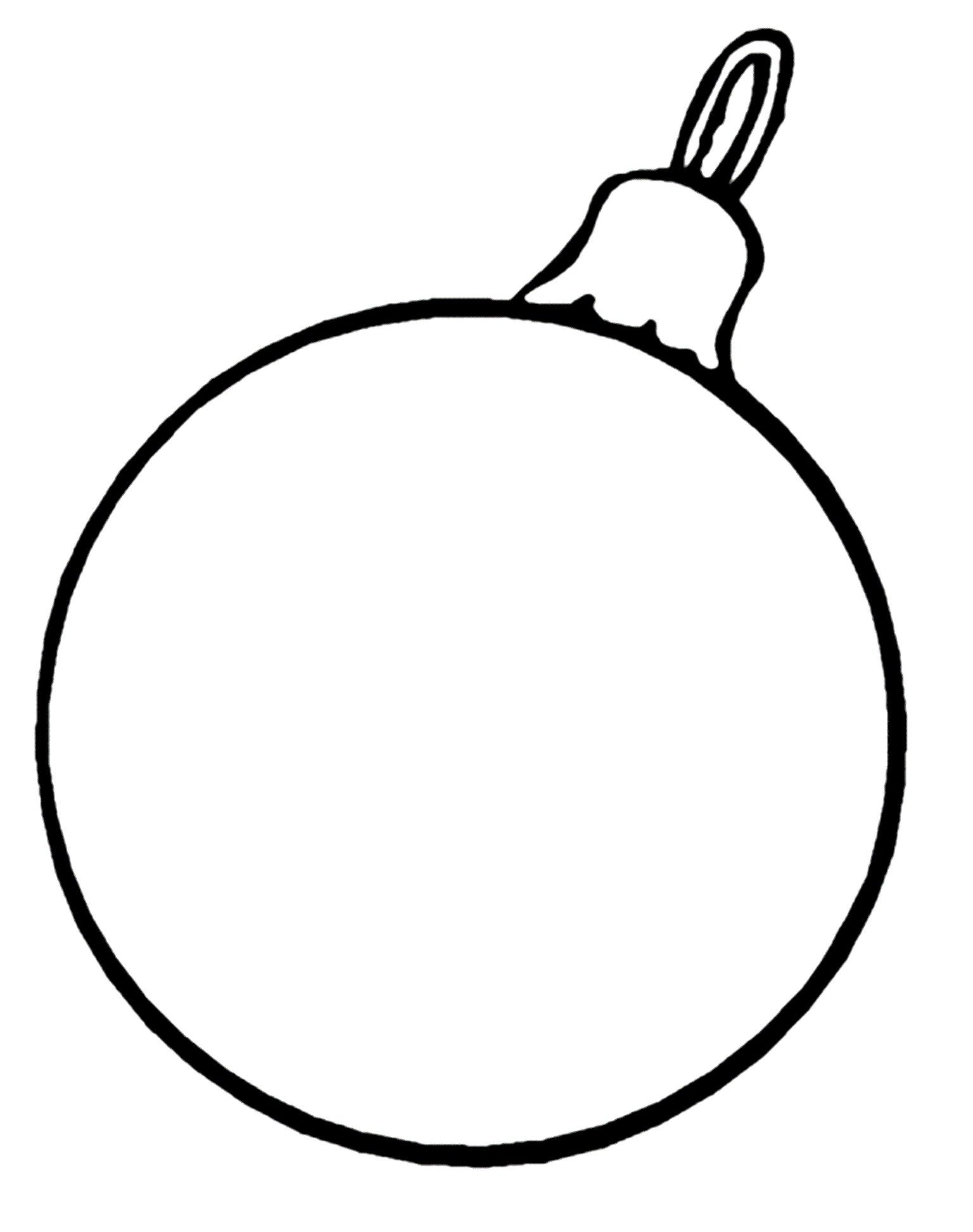1536x1944 Christmas Decorations Coloring Sheets A Little Girl