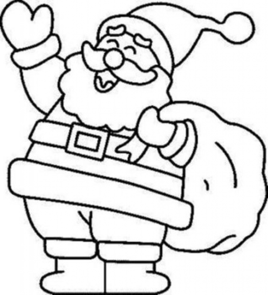930x1024 christmas coloring pages for kids to invigorate in coloring image