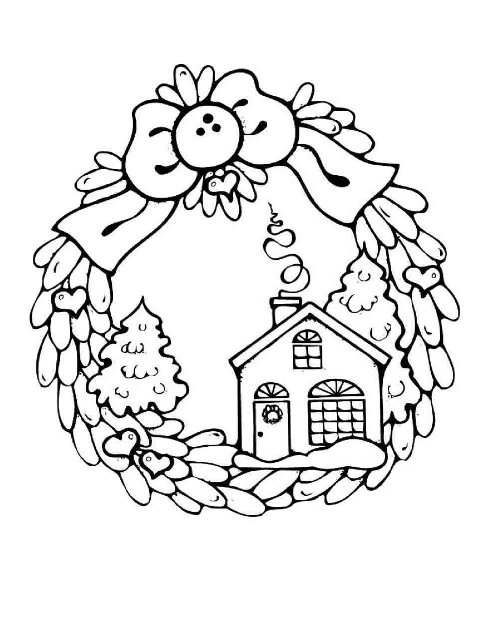 980x1268 Merry Christmas Coloring Page Printable Cheminee.website
