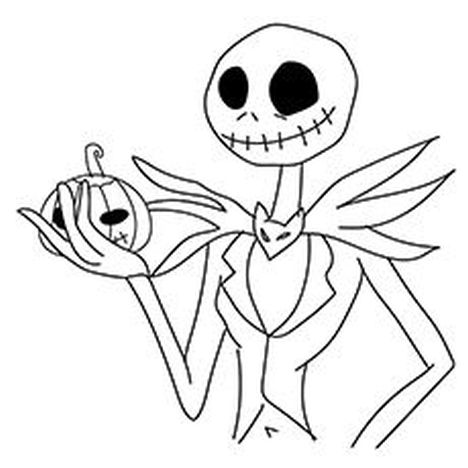 468x468 Nightmare Before Christmas Coloring Pages Printable