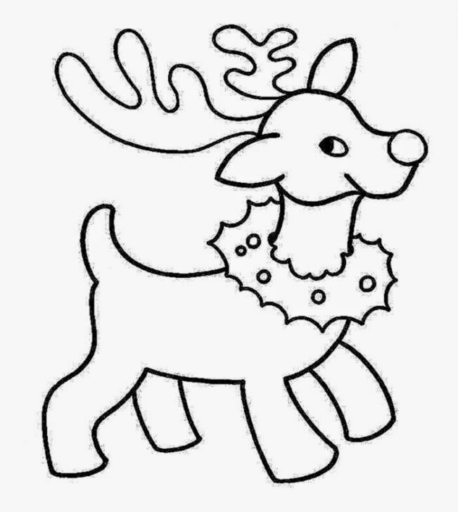 Christmas Coloring Pages Printable | Free download best Christmas ...