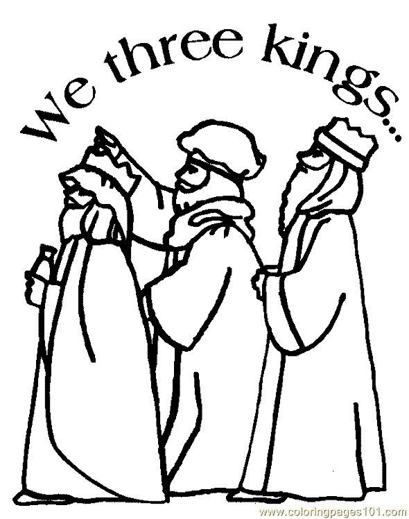 590x748 Printable Religious Christmas Coloring Pages