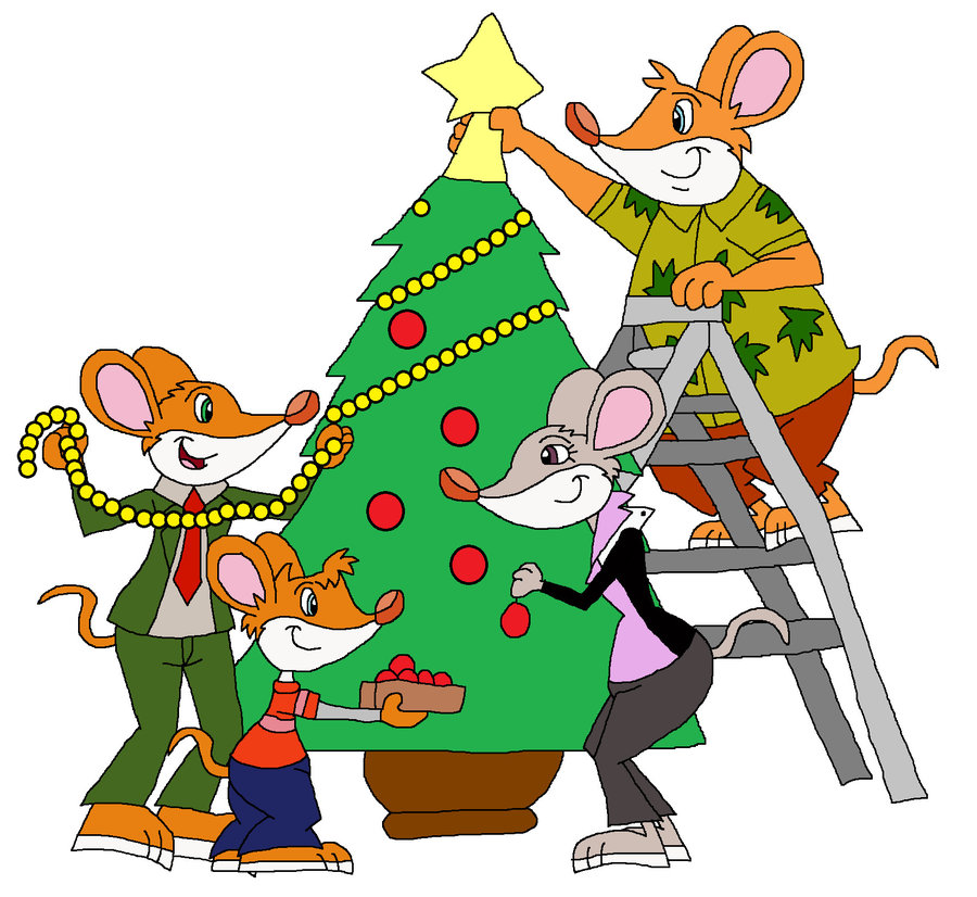900x826 Cartoon Christmas Tree