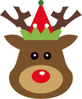 286x346 Christmas Reindeer Clip Art Clip Art