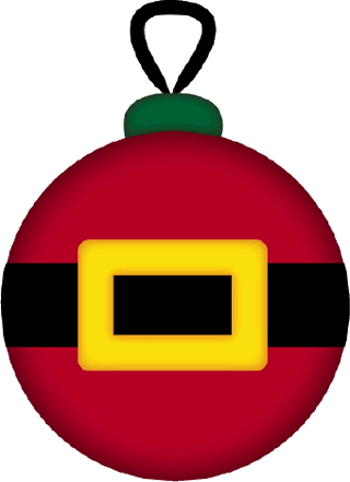 320x441 Christmas Tree Ornament Clipart