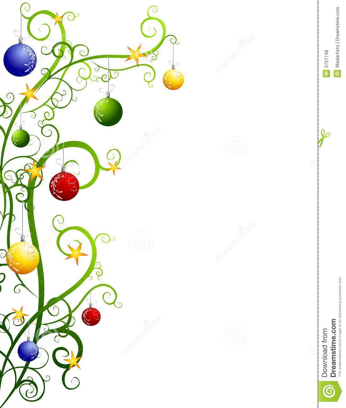1101x1300 Christmas Decorations Clipart Borders Free