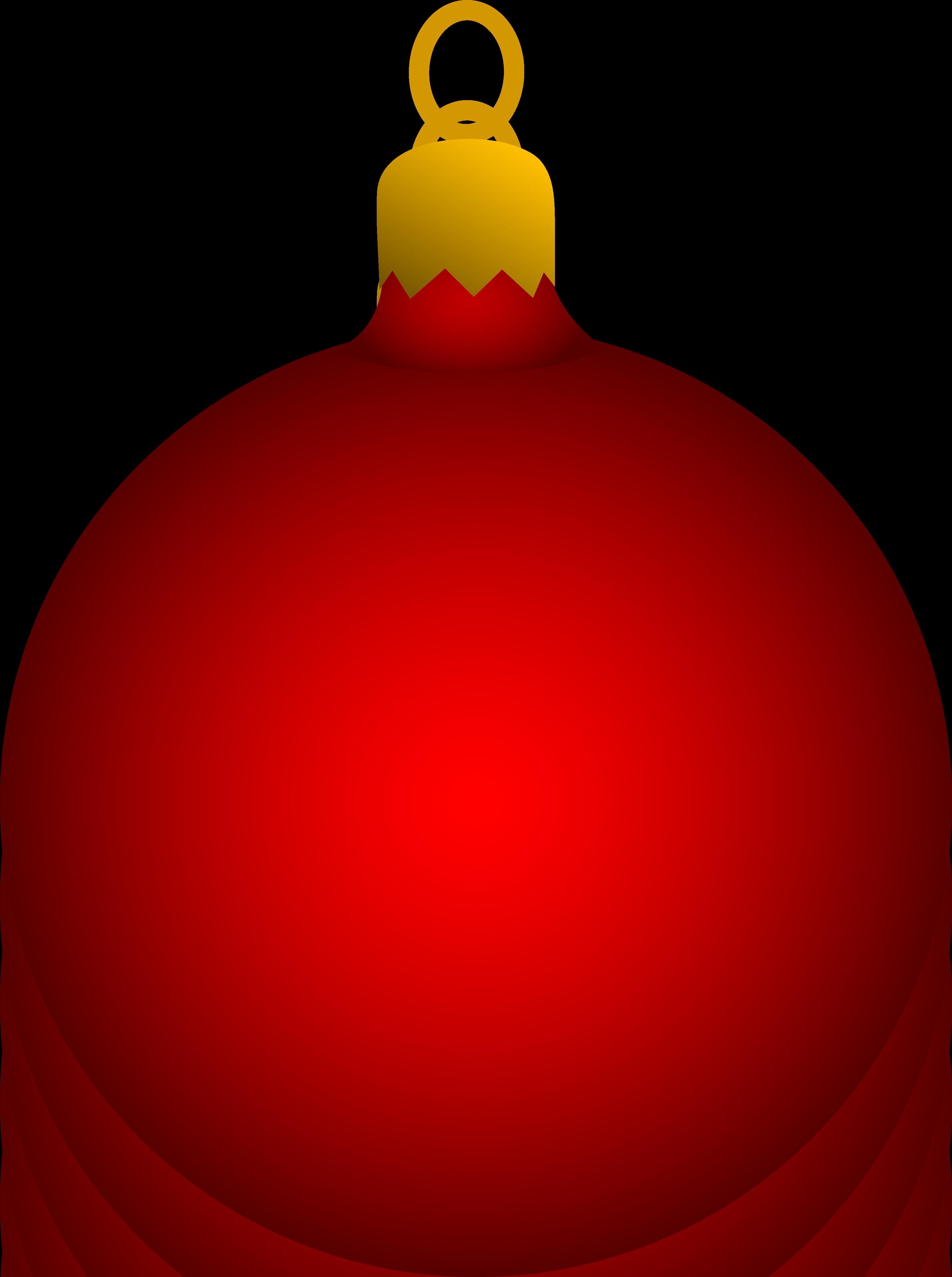 3525x4730 Red Christmas Tree Ornament
