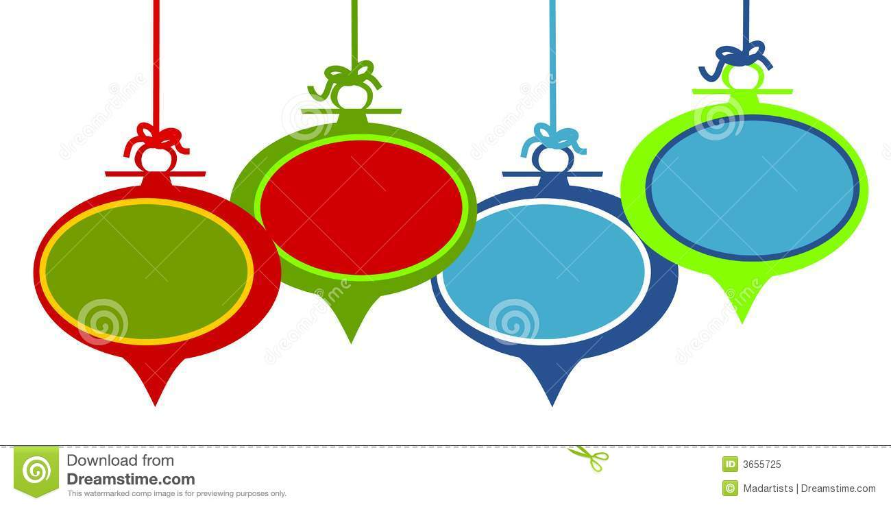 1300x740 Christmas Ornament Border Clipart Free
