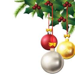 250x250 Christmas Decoration Images Clip Art