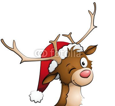 400x368 79 Best Clip Art Xmas Images Pictures, Deer And Kittens