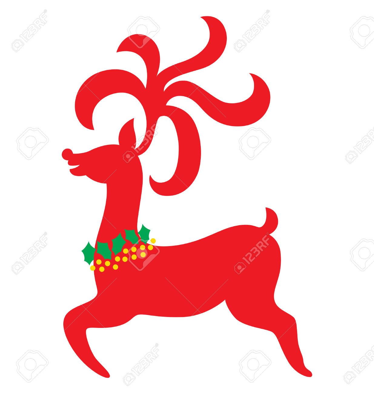 1235x1300 Deer Clipart Elegant Christmas