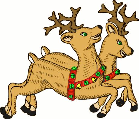 460x392 Reindeer Clipart Clipart Panda