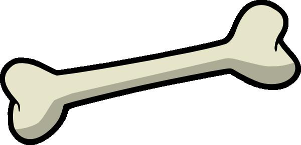 600x290 Clipart Dog Bone
