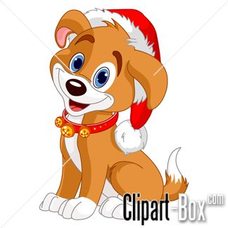 Christmas Dog Clipart Free