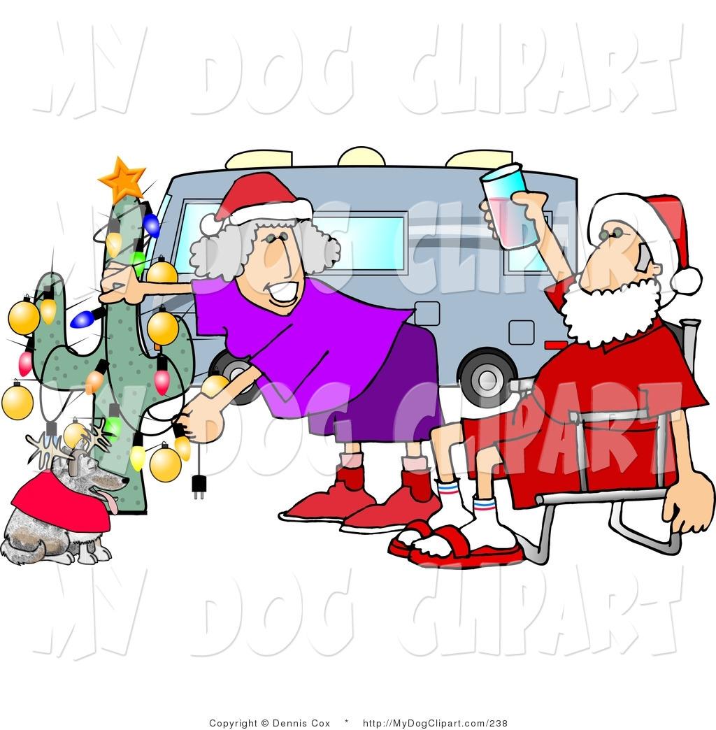 1024x1044 Royalty Free Christmas Stock Dog Designs