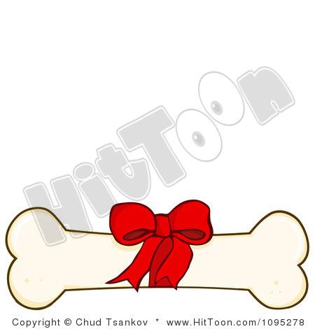 450x470 Dog Bone Clipart