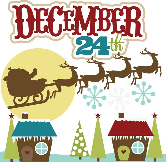 Christmas Eve Clipart
