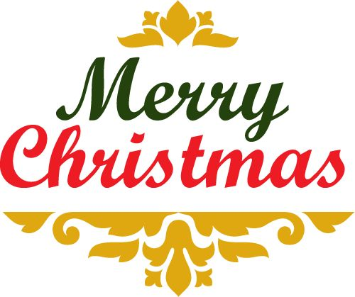 500x419 92 Best Clipart Winter Christmas Text Images
