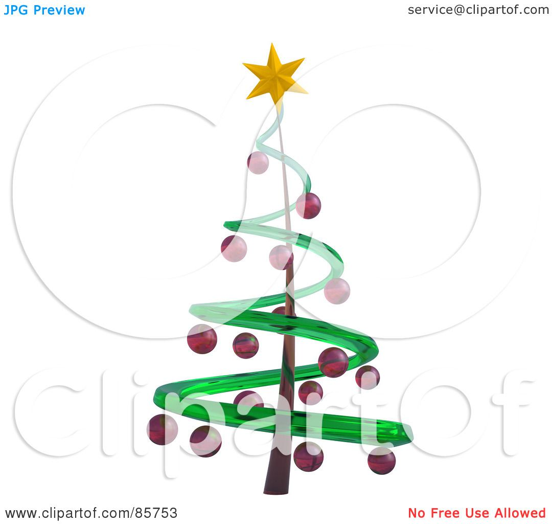 1080x1024 Spiral Clipart Christmas Tree