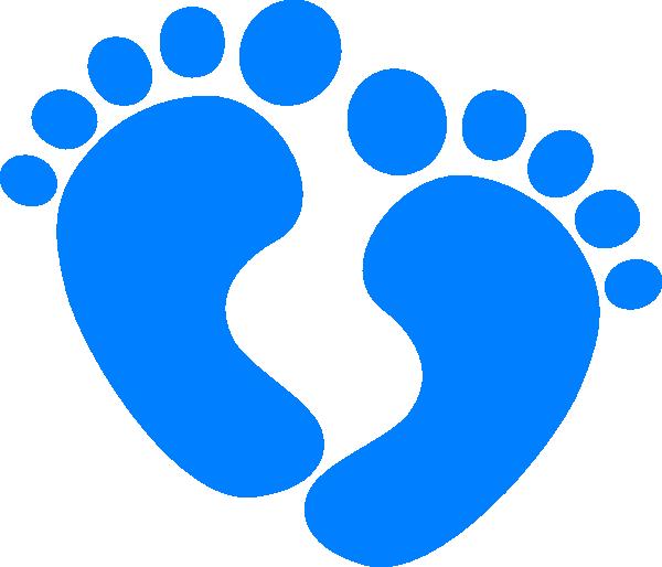 600x514 Baby Feet Clip Art