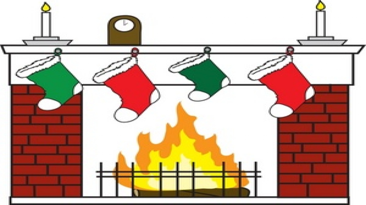 Christmas Fireplace Clipart | Free download on ClipArtMag