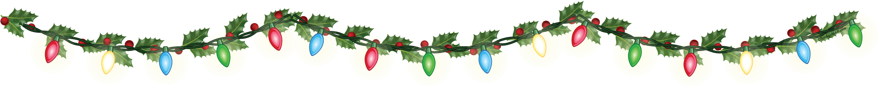 Christmas Garland Clipart Free Download Best Christmas Garland