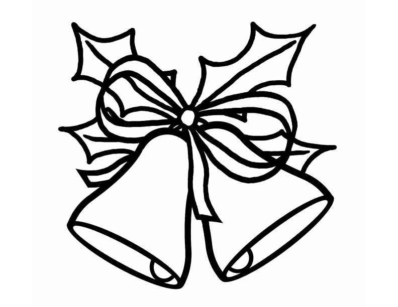 792x612 Graphics For Black And White Christmas Bells Graphics Www