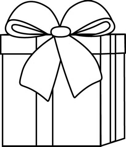 410x480 Christmas Gift Border Clipart Black And White