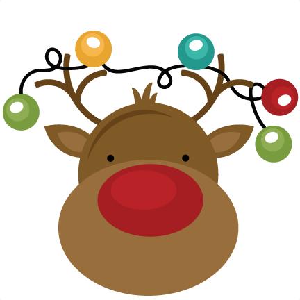 432x432 Christmas Reindeer Clipart