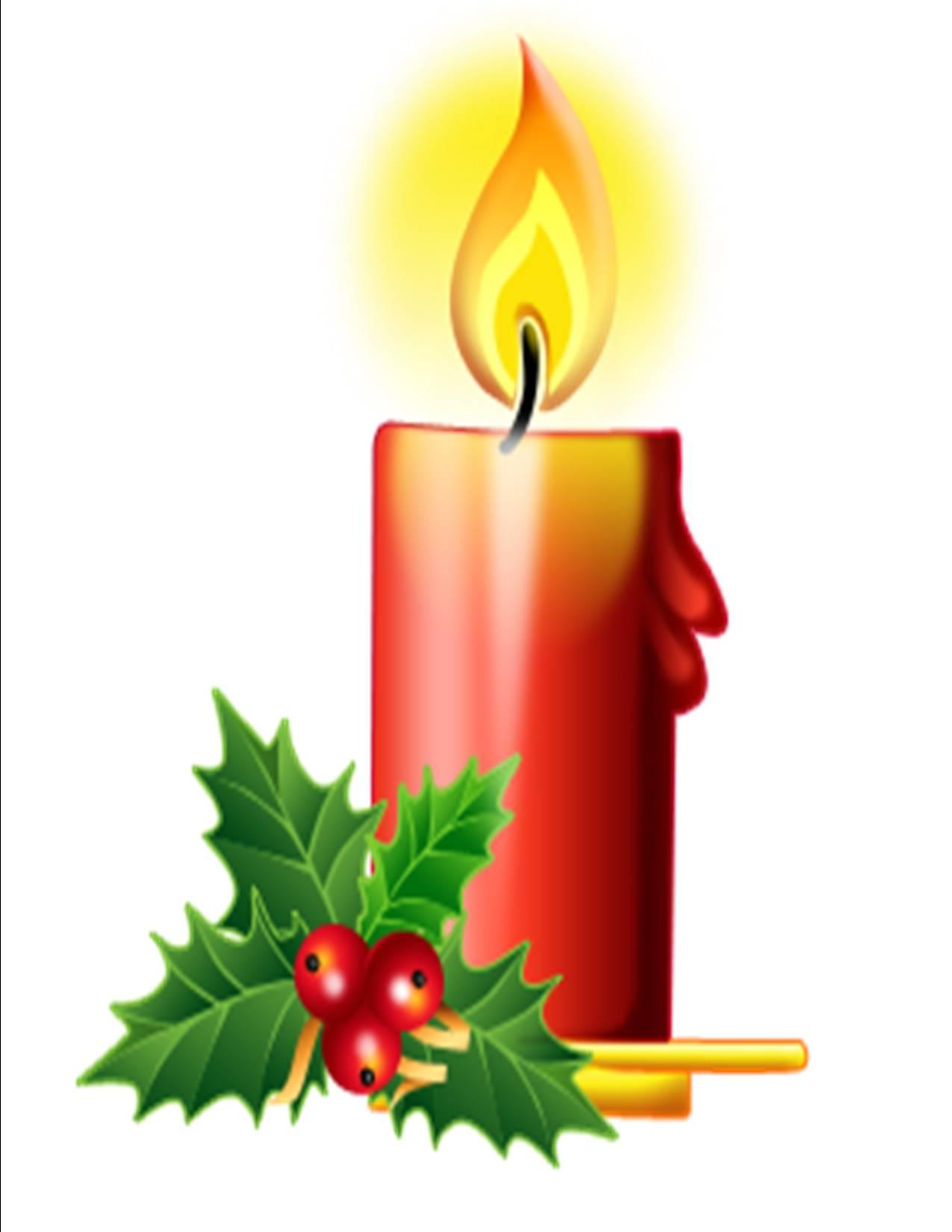 1275x1650 Christmas Candles Clip Art Clipart