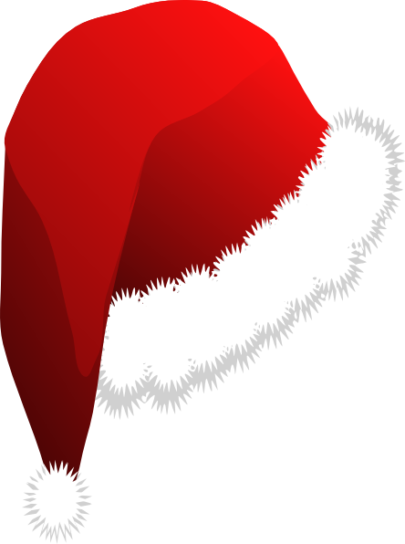 9235f95a65639 444x596 Christmas Hat Clipart