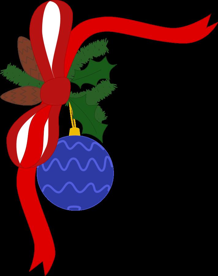 712x900 Free Christmas Borders Clip Art 3
