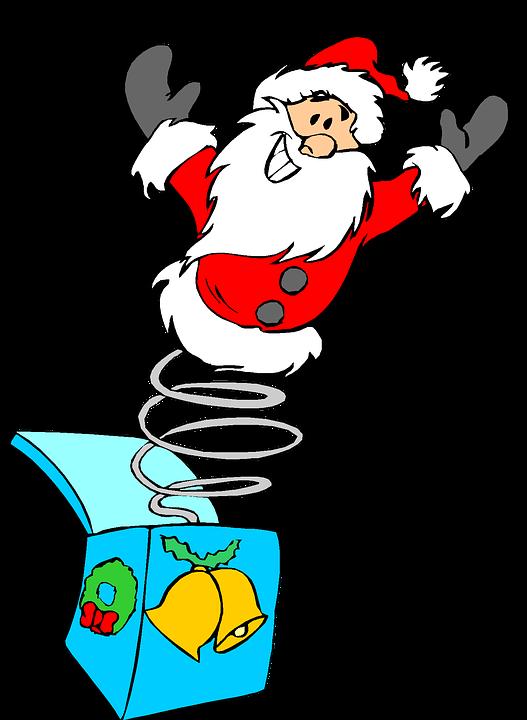 527x720 Free Photo Santa Jack In The Box Holiday Clip Art Christmas