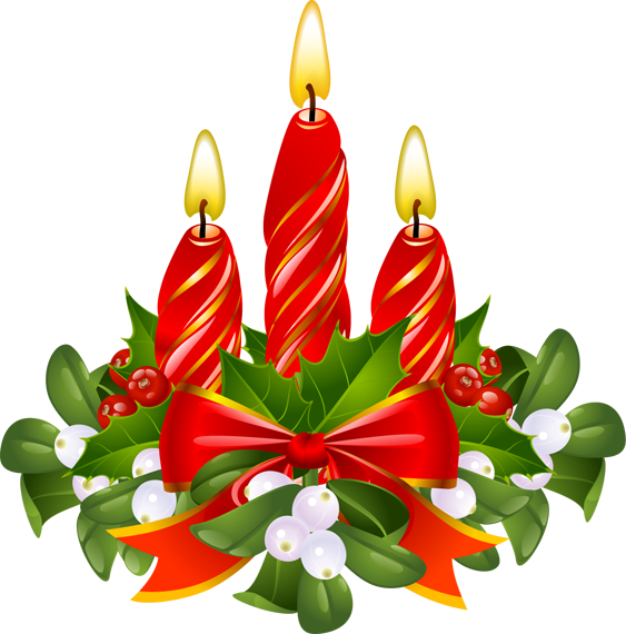 563x570 Holley Clipart Mistletoe
