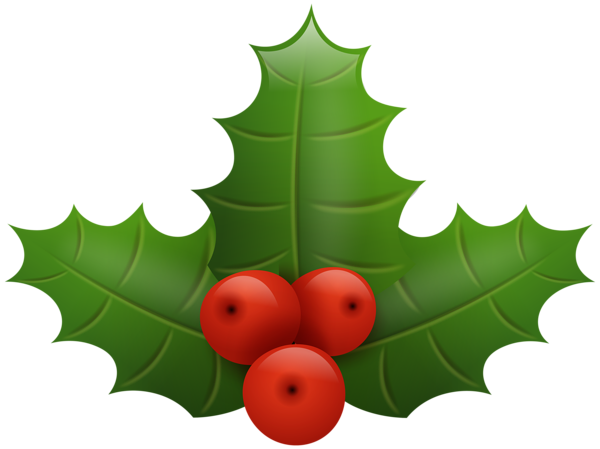 600x449 Christmas Holly Png Clip Art Image Christmas Tree Decoration Png