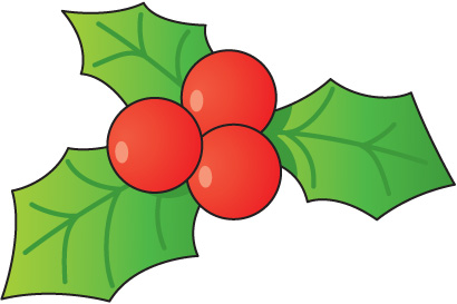 410x273 Clipart Free Holly