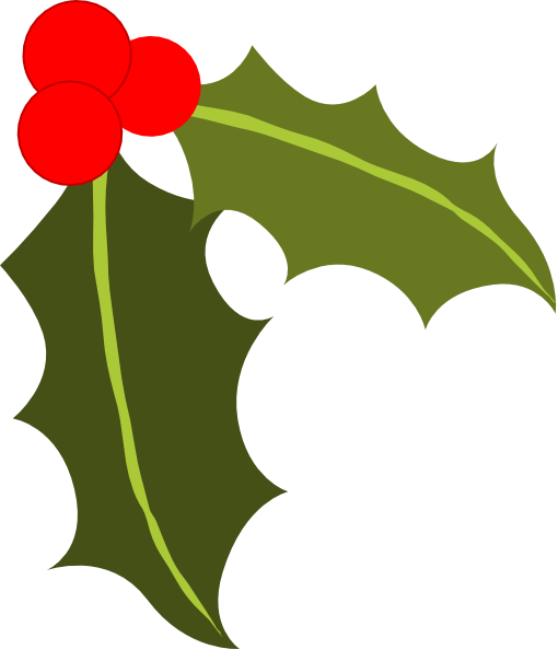 510x593 Holly Images Free Clip Art