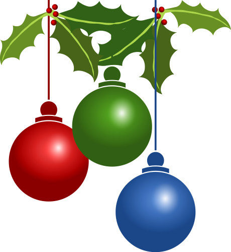 460x500 Best Christmas Holly Clip Art