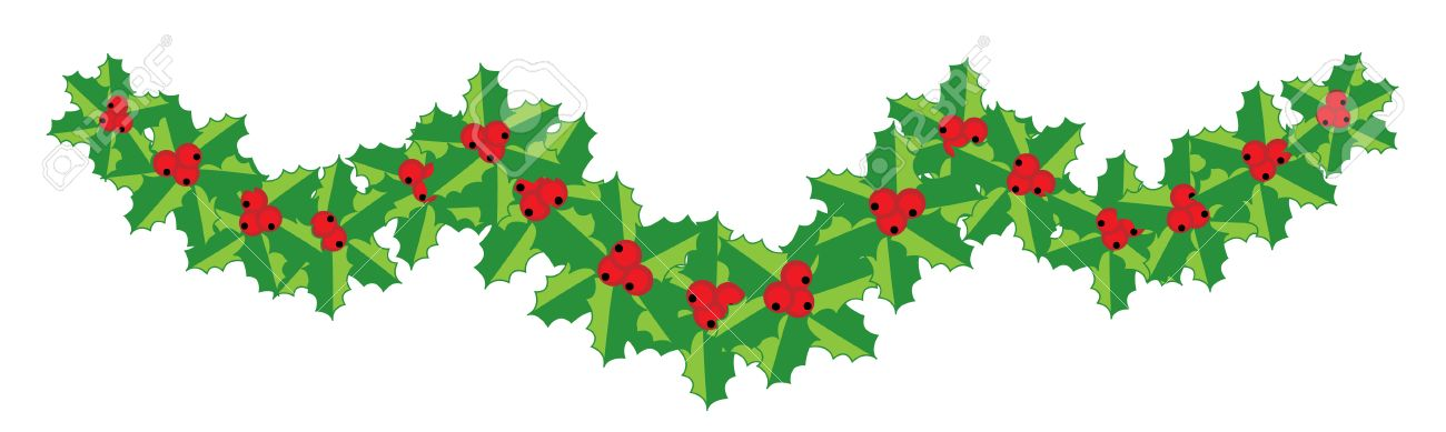 1300x389 Graphics For Horizontal Holly Christmas Graphics Www