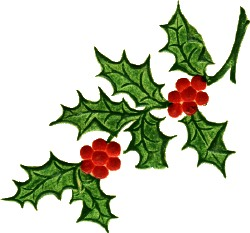 250x233 Christmas Holly Libraries Of Foster