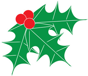 300x261 Free Free Holly Clip Art Image 0515 1012 0219 3214 Christmas Clipart