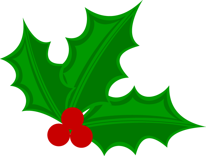 720x546 Holly Clipart