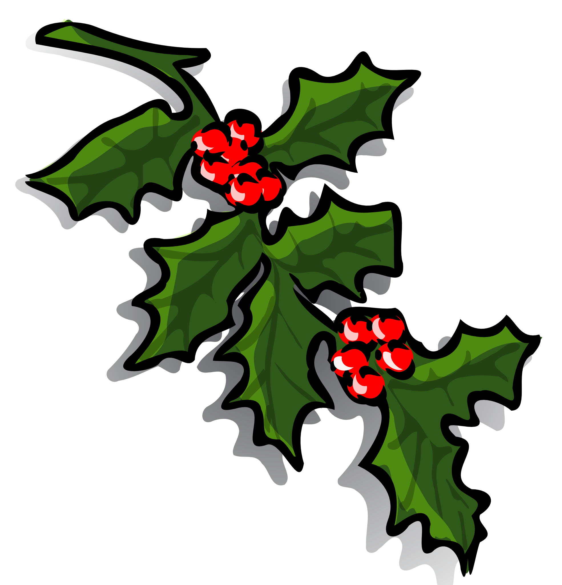 1969x2050 Ivy Clipart Christmas