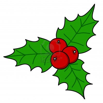 400x400 Red Holly Clipart, Explore Pictures