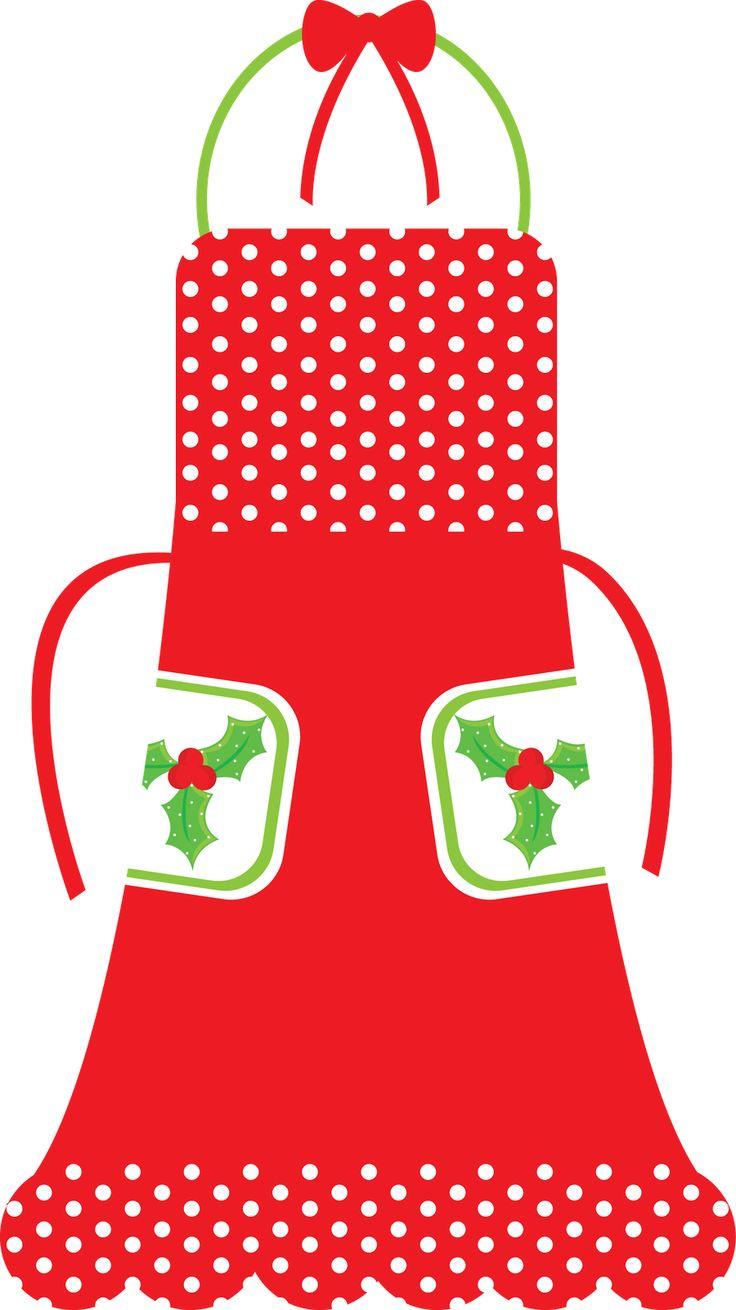 Christmas Kitchen Clipart