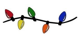 300x150 Christmas Lights Clip Art Best Business Template