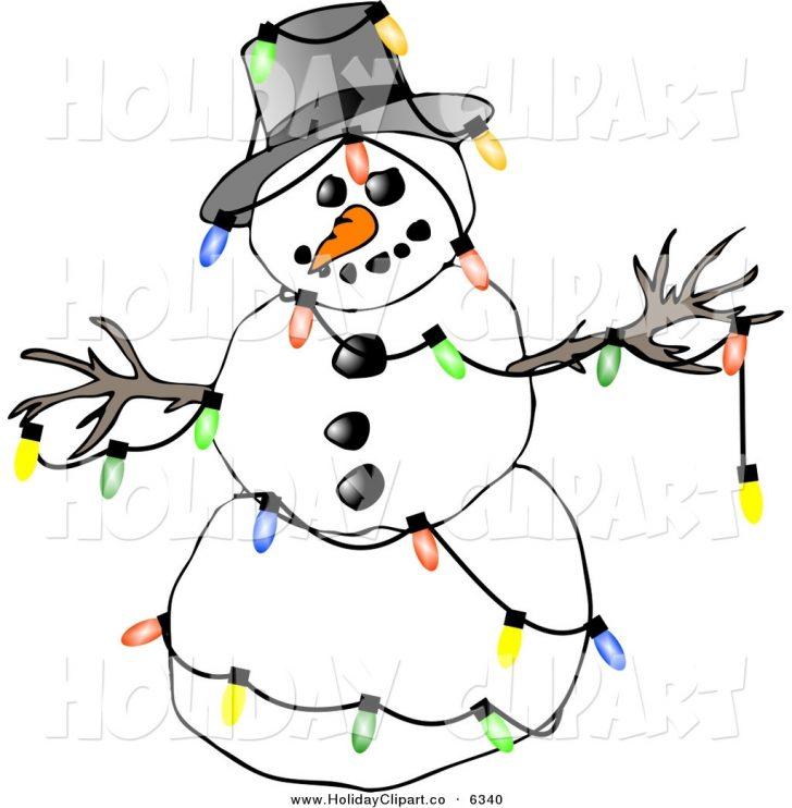 728x742 Christmas ~ Christmas Lights Clip Art Moment Image Clipart Photo