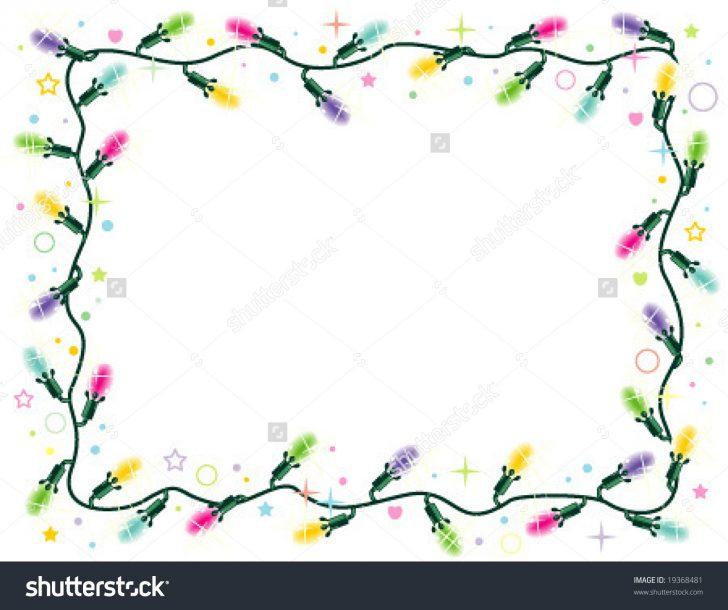 728x610 Christmas ~ Christmas Light Borders Free Border Clip Art