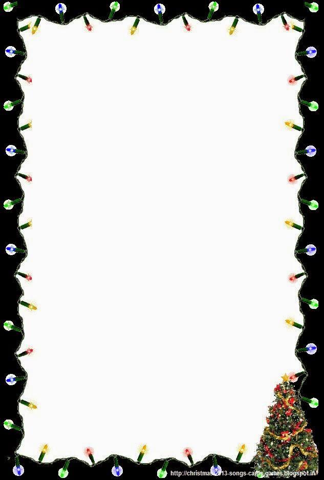 633x937 Seasons Greetings Border Clip Art