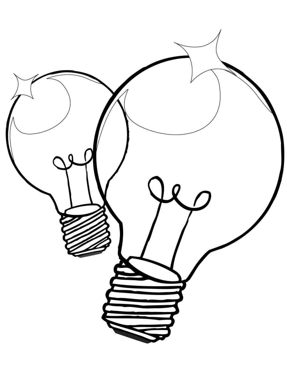 1007x1304 Christmas Light Bulb Clipart Black And White Cheminee.website